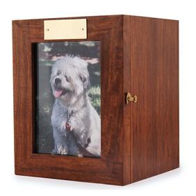 Portrait pet urn