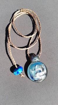 Elysium ash infused pendants