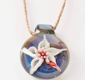 Custom glass pendants