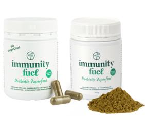 Gluten Free Probiotic Superfood Powder & Caps