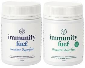 Immunity Fuel Probiotic Superfood Twin Pack (1 x Original & 1 x Gluten Free)