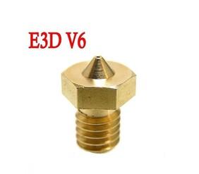 E3D M6 Brass Nozzle's