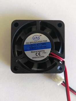 Wanhao I3 Plus / Cocoon Touch extruder cooling fan