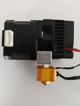 Wanhao I3 Plus MK10 extruder assembly