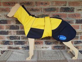 Large waterproof coat - Yellow / Black