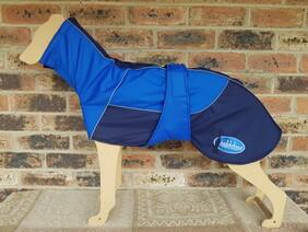 Large waterproof coat - Royal Blue / Navy