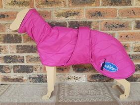 Medium quilted coat - Pink