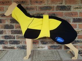 Large fleece coat - Yellow  / Black