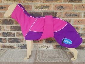 Medium fleece coat - Pink / Purple