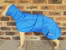 Medium quilted coat - Blue