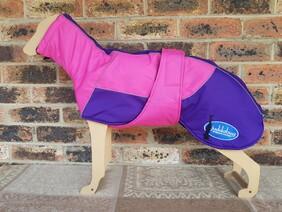 Medium waterproof coat - Pink / Purple