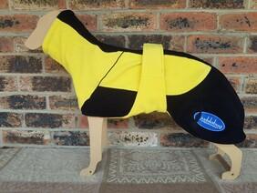 Medium fleece coat - Yellow / Black